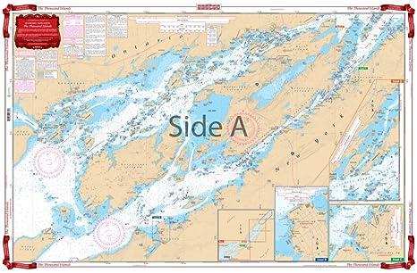 Amazon com waterproof charts standard navigation 78 the thousand