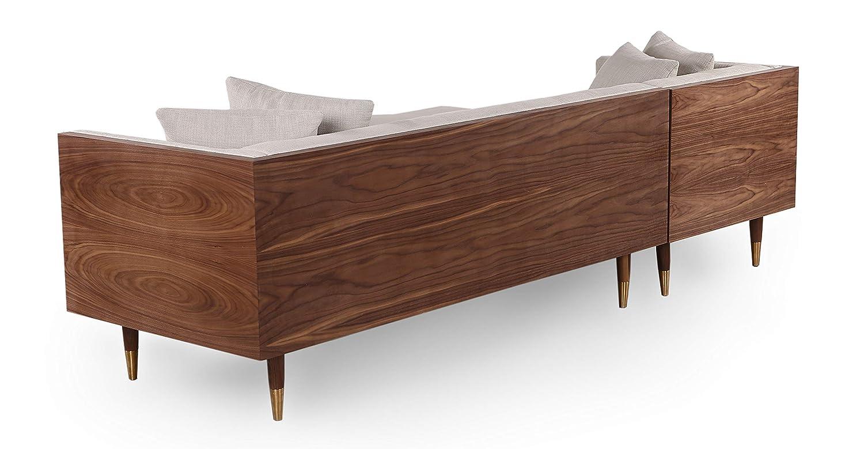 Amazon.com: Kardiel Moderno sofá de neo de madera de ...