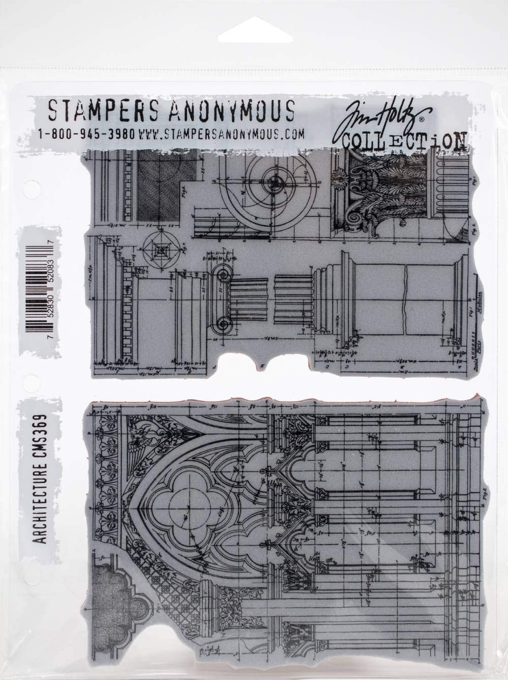 Stampers Anonymous CMS369 ClngStp THoltz Architecture