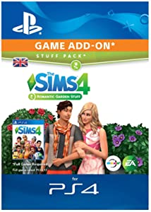 The Sims 4 - Romantic Garden Stuff DLC | PS4 Download Code - UK Account