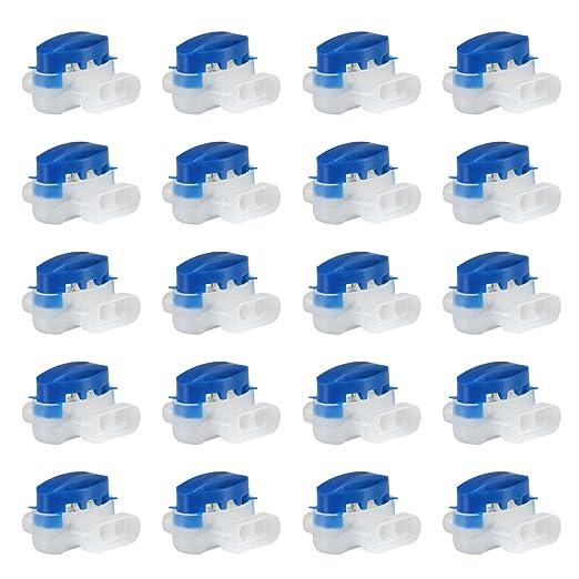 GWHOLE 20 Piezas Conector de Cables para Robot Cortacésped ...