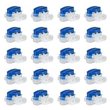 GWHOLE 20 Piezas Conector de Cables para Robot Cortacésped Automower de Husqvarna Accesorios para robots cortacéspedes