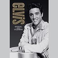 Official Elvis Presley 2022 Calendar - Month To View A3 Wall Calendar: Original Danilo-Kalender (The Official Elvis A3…