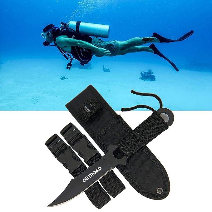 Amazon.com: Buceo cuchillo de buceo – Para pesca submarina ...