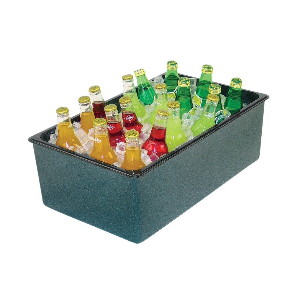 Buffet Enhancements 1BBCS20 Emerald Chefstone Medium Insulated Beverage Display