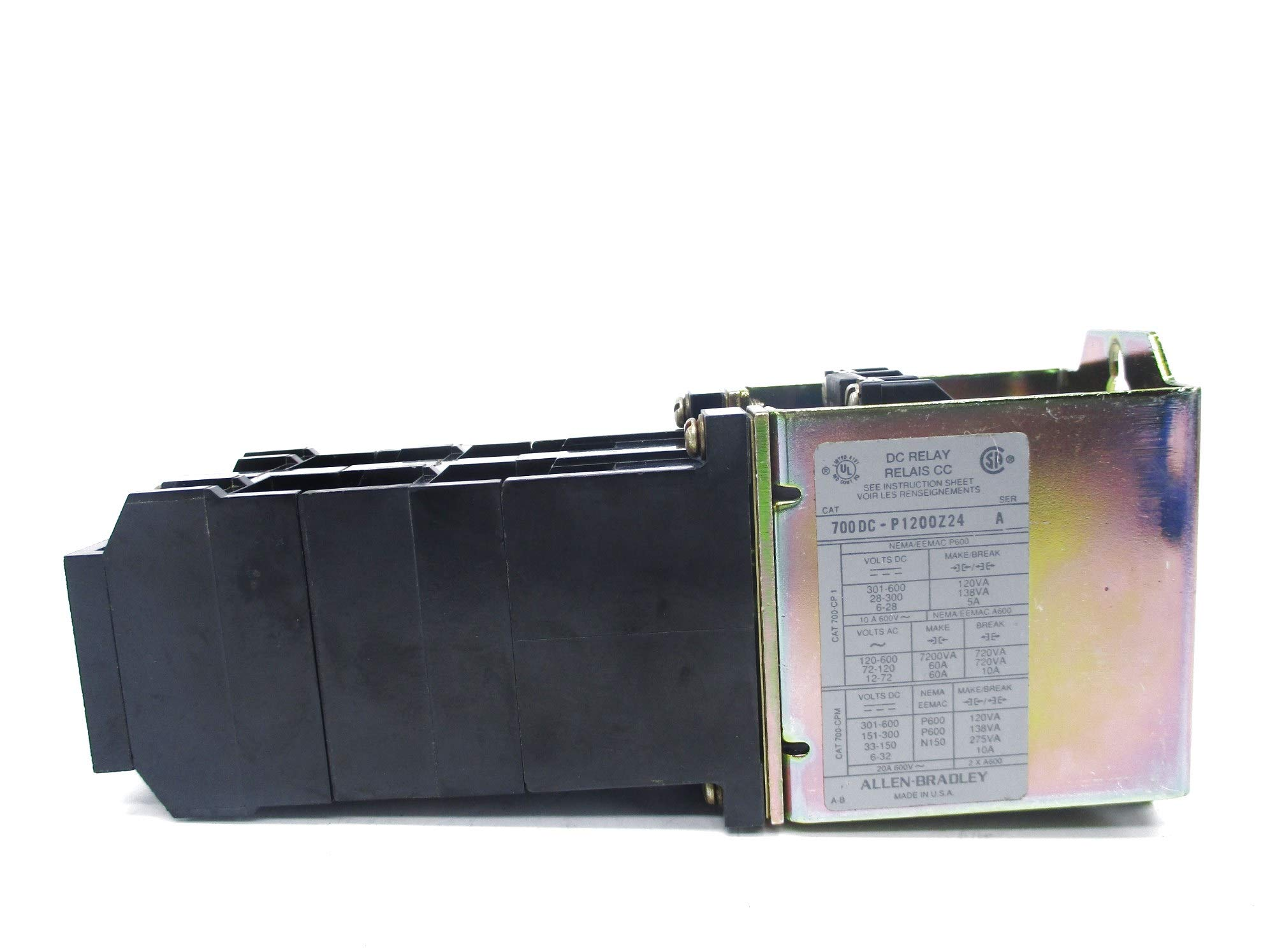 Allen Bradley 700DC-P1200Z24 SER. A 24V NSNP