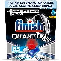 Finish QUANTUM MAX Dishwasher Tablet, 85 tablet