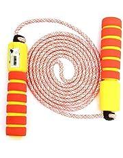 JOJOR Kinder Springseil Baumwolle mit Zähler Und Komfortablen & Anti-Rutsch Griffen, ideal für Fitness Sport Outdoor