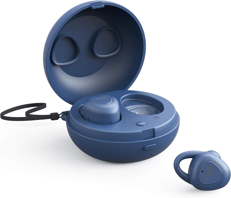 Vieta pro case - auricular bluetooth 5.0 true wirelesss, con función manos libres, resistencia al agua ipx5,