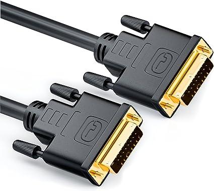 Deleycon 1 5m Dvi Zu Dvi Kabel 24 1 Dvi D Dual Link Computer Zubehör