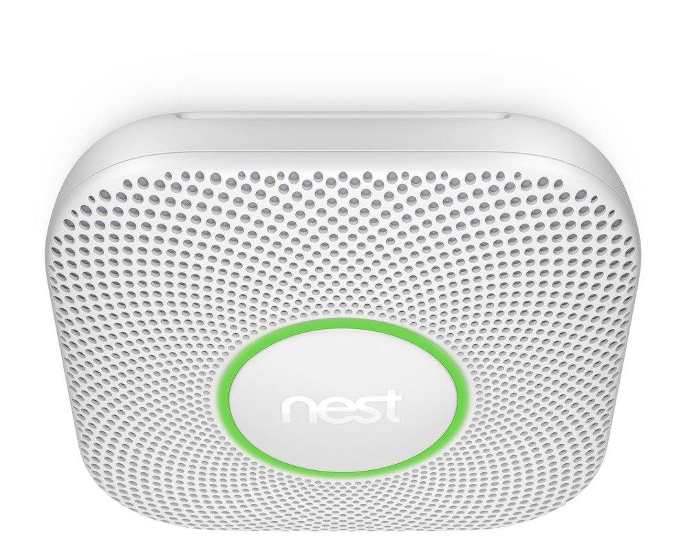 Nest Protect Smoke Carbon Monoxide Alarm, Battery 2nd Generation , 3 Pack