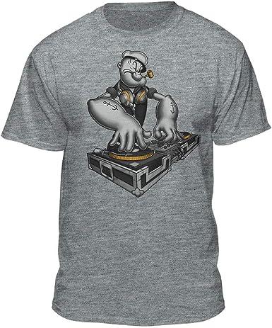 Amazon.com: DJ Popeye el sailor Man Spining en el Tocadiscos ...