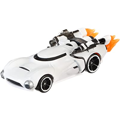 Hot Wheels Star Wars Rogue One Character Car, First Order Flametrooper (Clean): Toys & Games