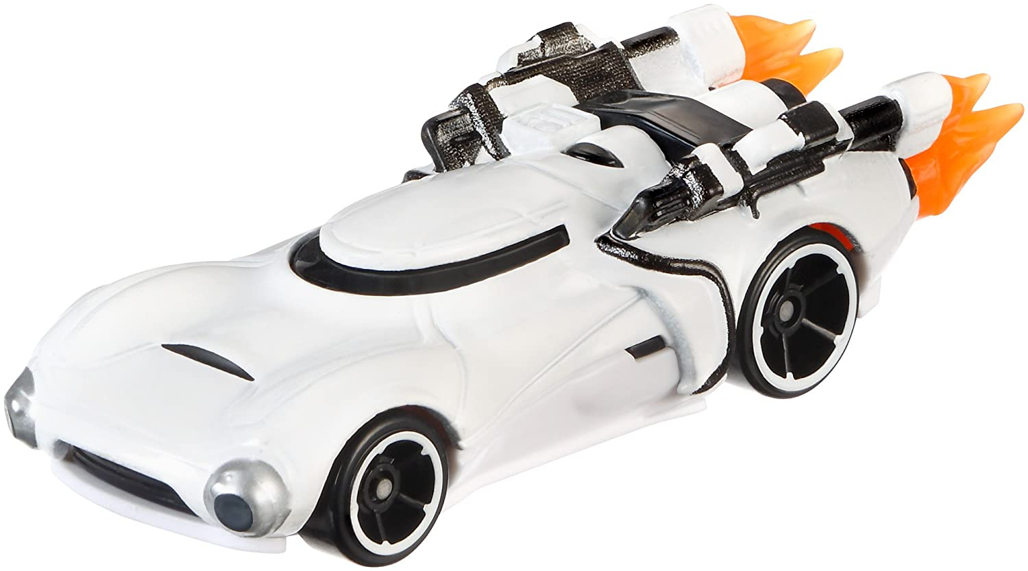 Hot Wheels Star Wars First Order Flame Trooper Character Car DXP30