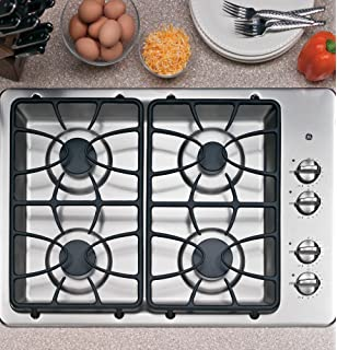 GE JGP329SETSS 30 Wide 4 Sealed Burner Gas Cooktop In Stainless Steel