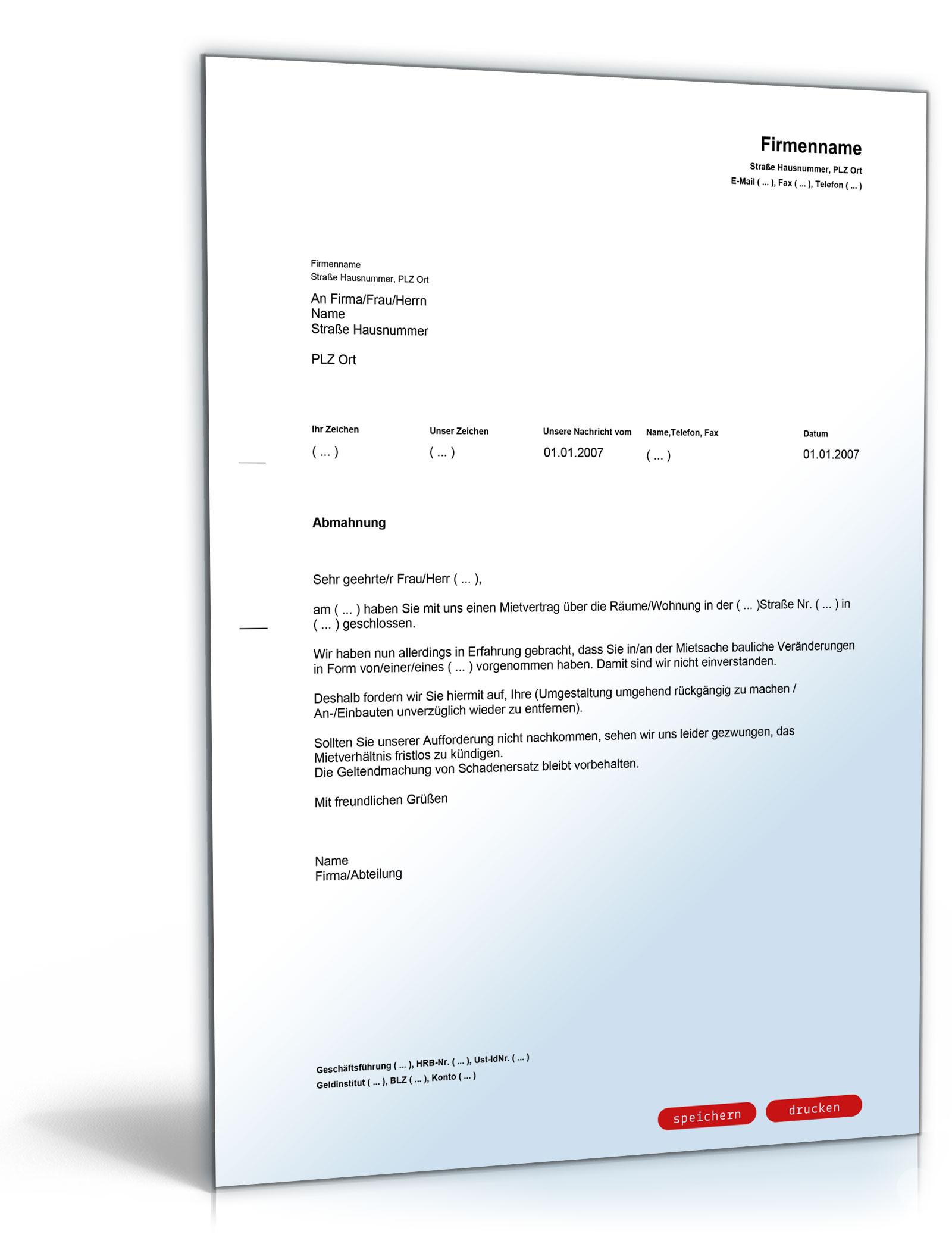 Vermieter Paket Kündigung Abmahnung Zip Ordner Amazonde Software