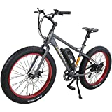 """Onway 26"""" 500W Powers Plus Electric Mountain Bike Pedal assist Electric Bicycle with Removable Lithium-Ion Battery for All Terrain Riding"""