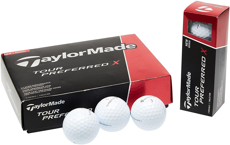 TaylorMade 2016 Tour Preferred X Golf Balls (1 Dozen) [並行輸入品] B071WHHCYB