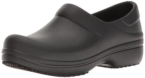 Neria Pro Clog, Mujer Zueco, Negro (Black), 38-39 EU Crocs