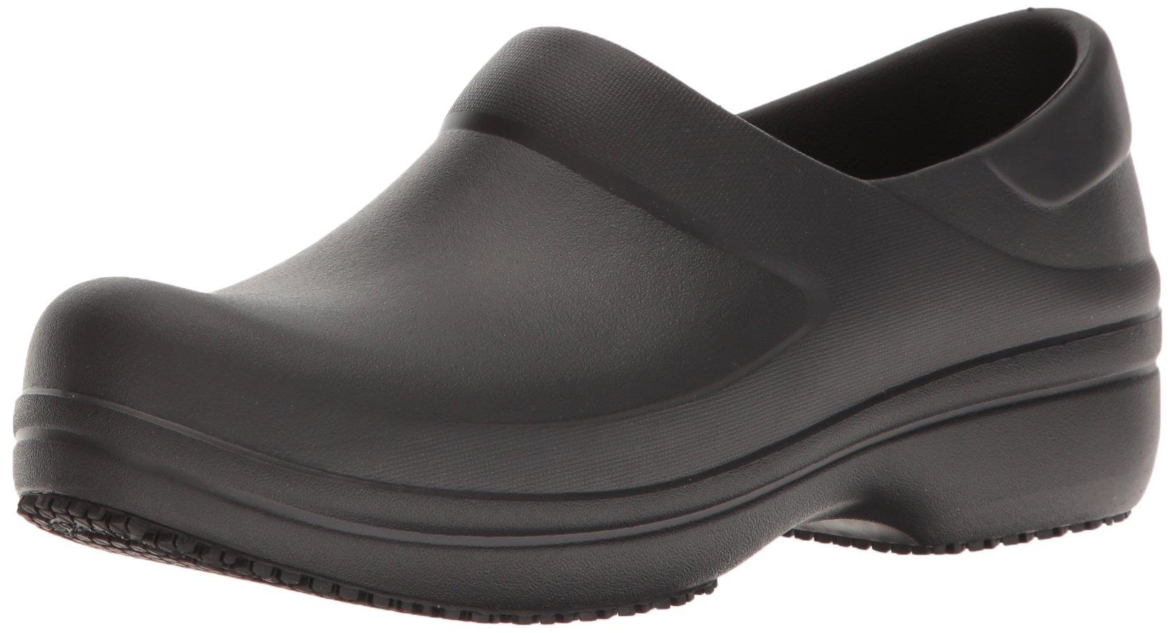 Crocs Women's Neria Pro Clog W Mule, Black, 9 M US