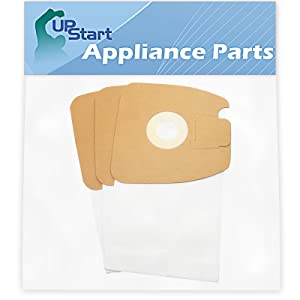 3 Replacement MM Bags 60295C for Eureka, Sanitaire - Compatible with Eureka 3670G, Sanitaire SC3683A, Eureka Mighty Mite Pet Lover 3684F, Eureka Mighty Mite 3670G, Eureka 3684F, Sanitaire SC3683, Sanitaire S3681, Eureka Style MM, Eureka 3670A, Eureka 3684B, Eureka Mighty Mite 3684F