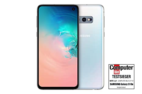 Samsung Galaxy S10e 128GB Dual SIM Prism White DE Version