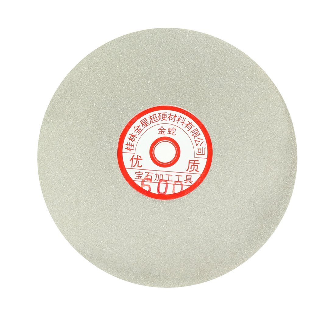 Sourcingmap 6-inch Grit 1200 Diamond Coated Flat Lap Wheel Grinding Sanding Polishing Disc