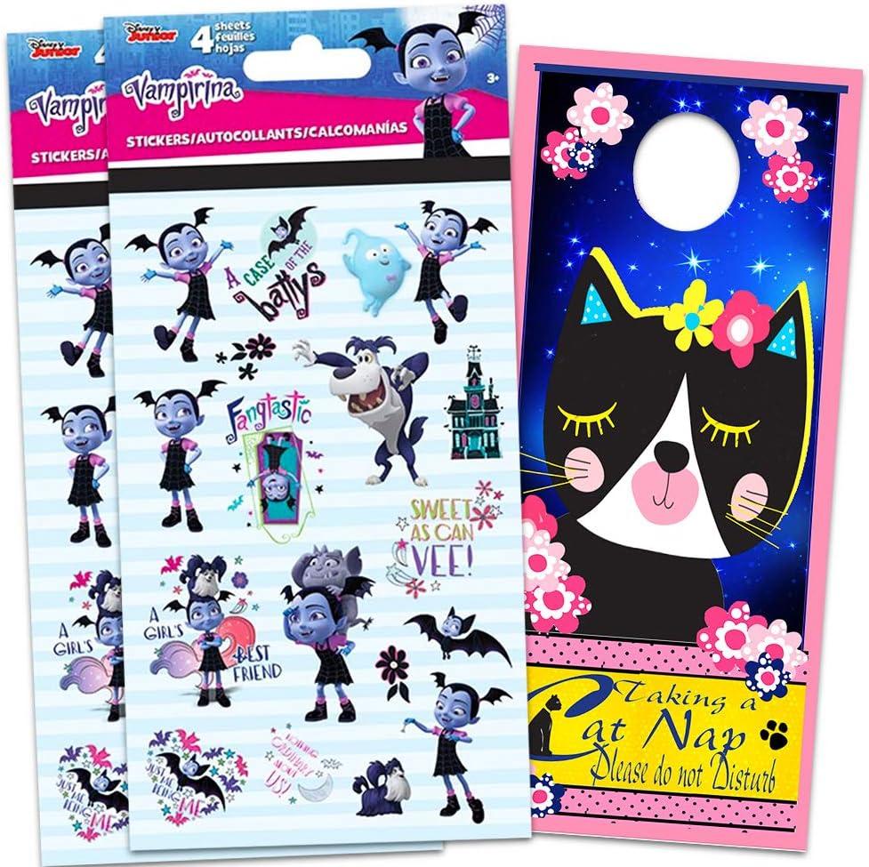 Amazon.com: Disney Vampirina pegatinas para fiestas paquete ...