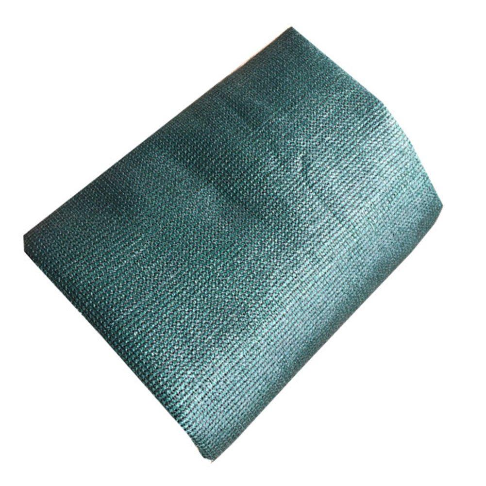 vert 2x7m LQQGXL Filet Pare-Soleil, Isolation Thermique extérieure, Ventilation, abri d'auto, cryptage, Prougeection des Fleurs, Pare-Soleil, Trou métallique, polyéthylène BÂche imperméable à l'eau