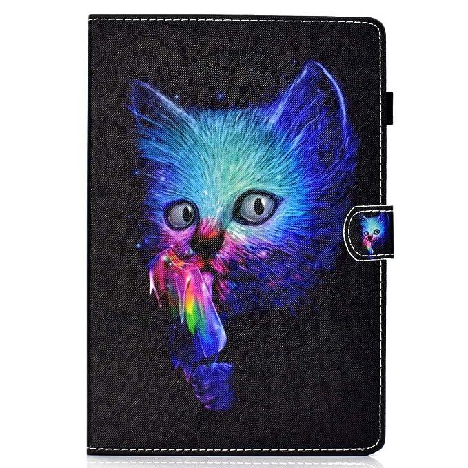 Coopay Tab A 8.0 Hülle Leder,für Samsung Galaxy Tab A 8 Zoll Schutzhülle,Ultradünne Case Full Body Lederhülle,Flip Standfunkt