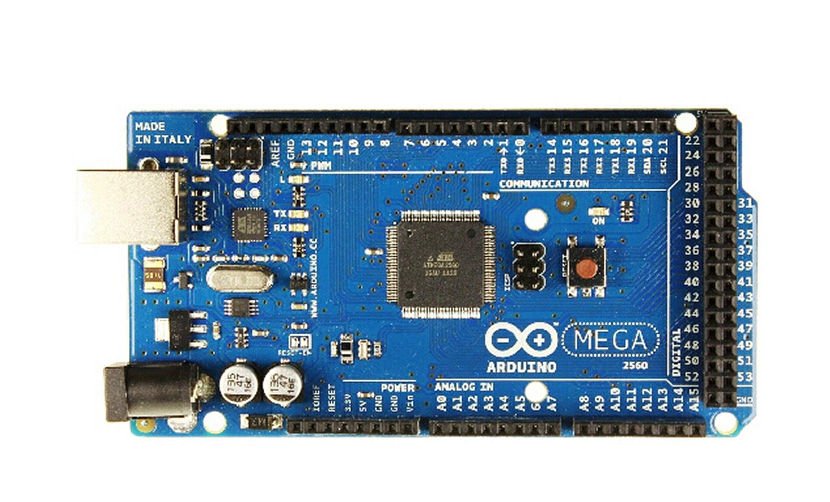 DF Arduino Mega2560 Rev3/With 54 Digital I/O Port/16 Analog Input Port/4 Uarts/A 16 Mhz Crystal Oscillator/A USB Connection/A Power Jack