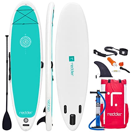 redder Inflatable Stand-up Paddle Board Zen SUP for Yoga 108
