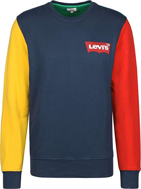 Levis ® Modern HM Crewneck Sudadera Dress Blues