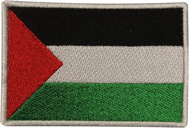 Parche bordado con la bandera de Palestina para coser o planchar, para ropa, etc.: Amazon.es: Hogar
