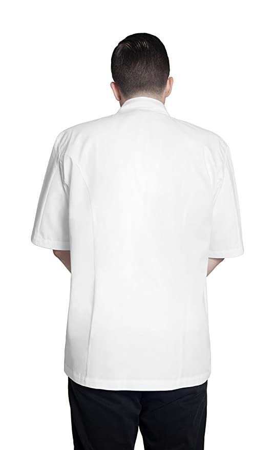 Amazon.com: bragard Grand Chef chamarra de manga corta con ...