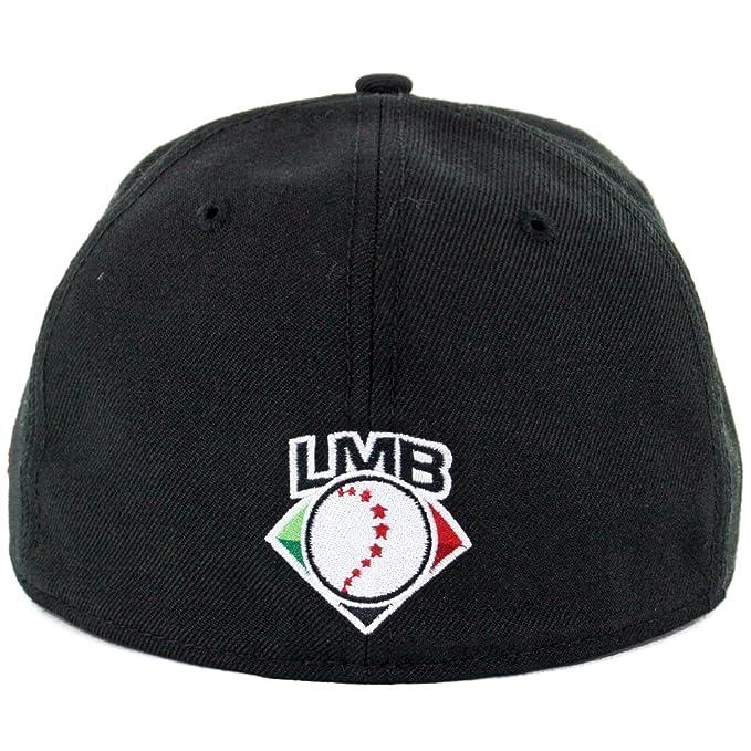 068930a7831 New Era 59Fifty Toros de Tijuana TJ Fitted Hat (Black) LMB Mexico Baseball  Cap at Amazon Men s Clothing store