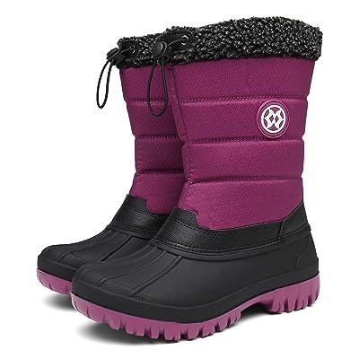 Eagsouni Womens Snow Boots Purple   Snow Boots