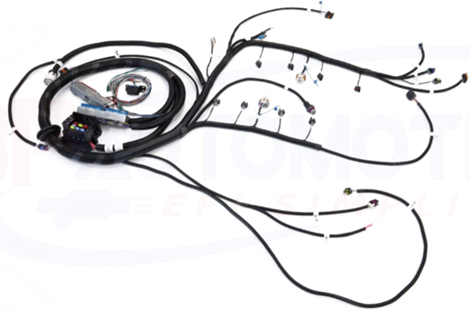 ford 302 wiring harness standalone amazon com ict billet bp automotive standalone wire harness  bp automotive standalone wire harness
