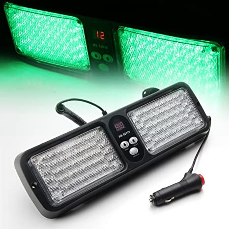 Amazon.com: fochutech 86 LED Sunshield Visor Luz ...