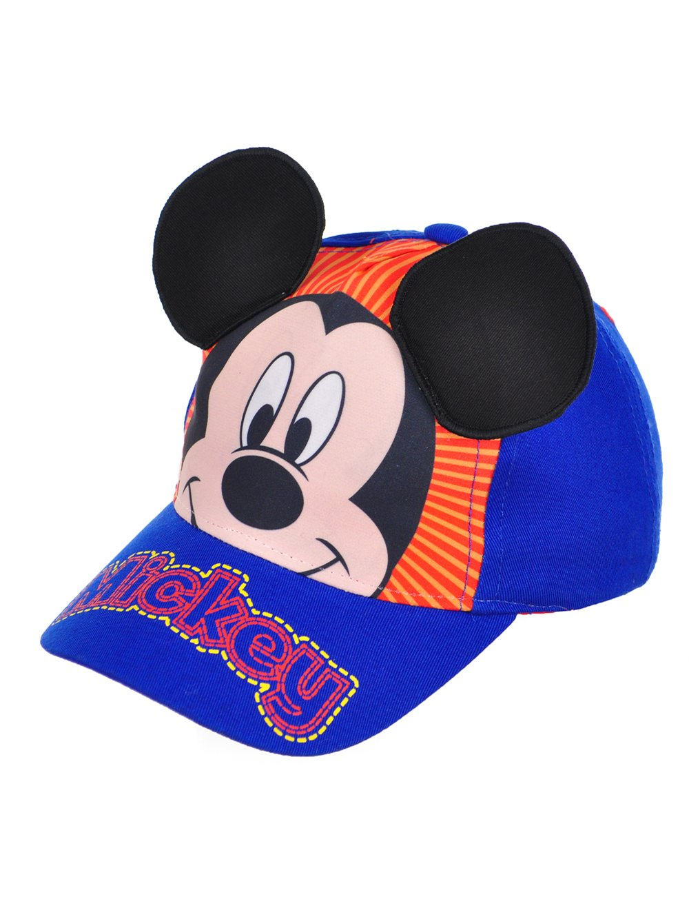 Disney Mickey Mouse Baseball Cap, 3-6 Years (Blue #5)