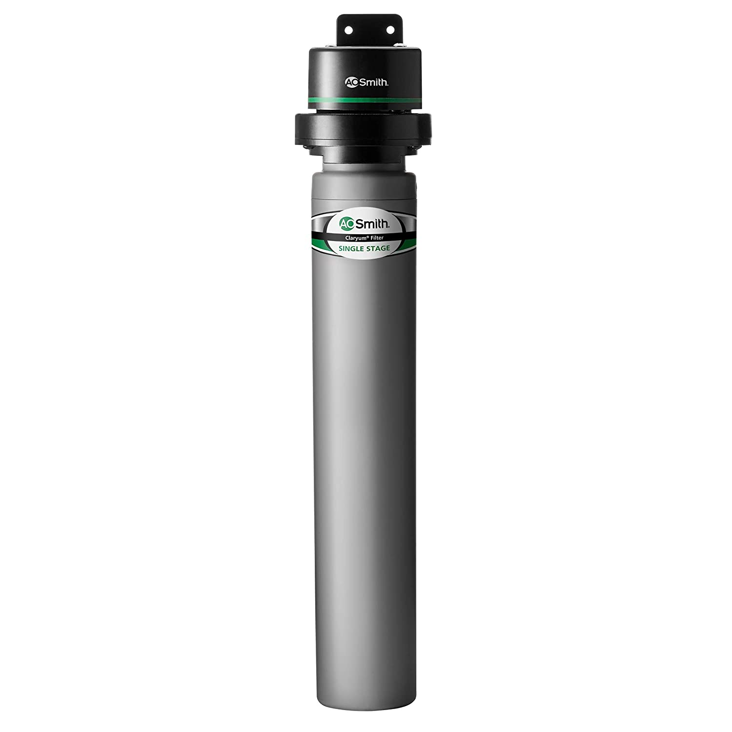 AO Smith Clean Water Single-Stage Under Sink Filter System - NSF Certified Carbon Block Filtration