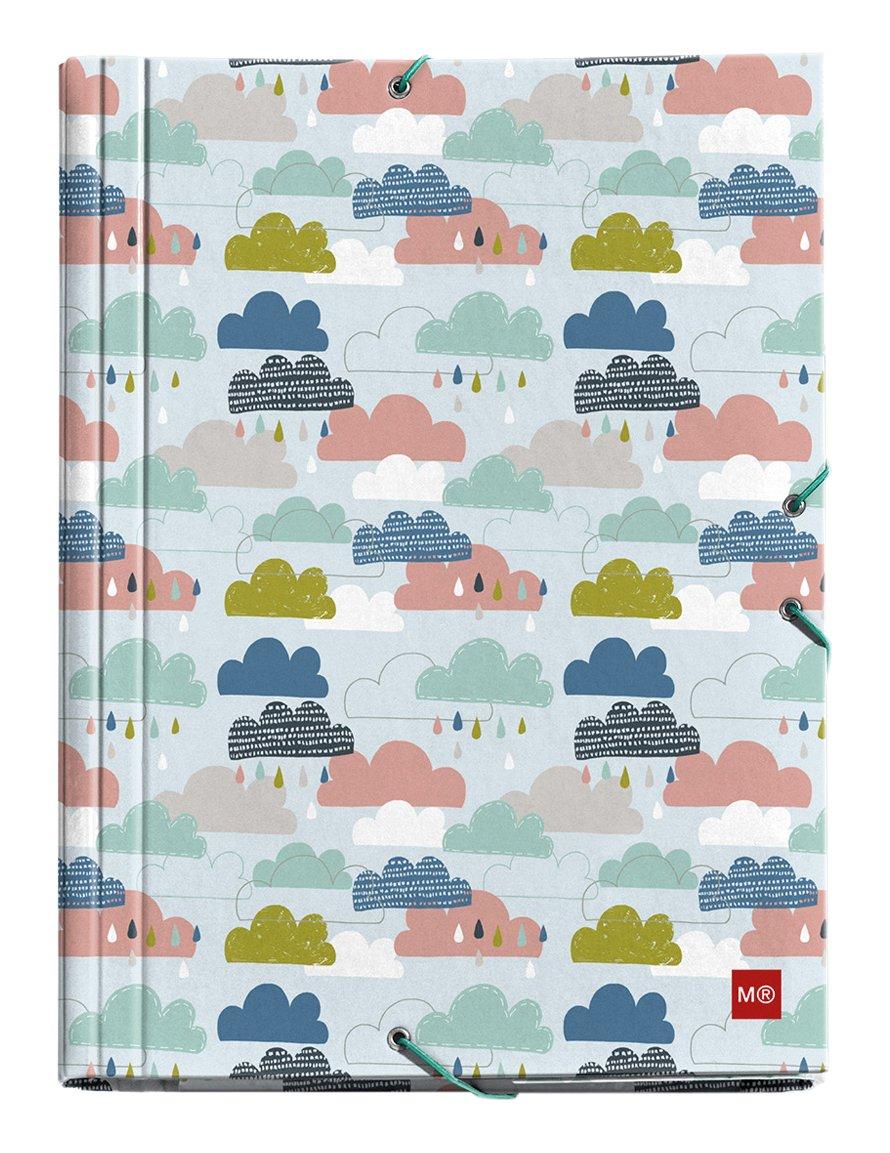 Miquelrius 20133 - Carpeta solapas, A4, 210 x 297 mm, multicolor: Amazon.es: Oficina y papelería