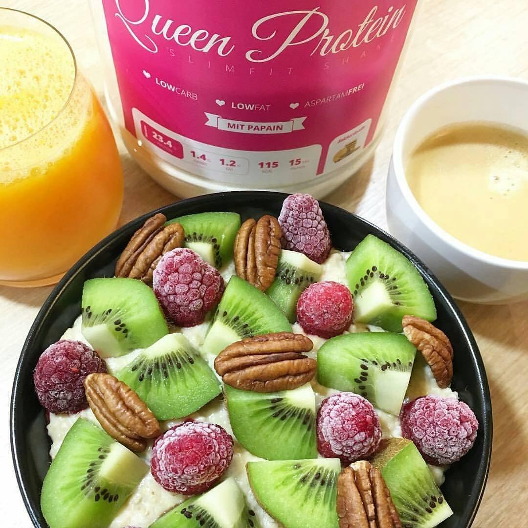 gymqueen Queen proteína Slimfit | proteína Whey | 113 Calorías Pro Shake | con papaína | 100 g: Amazon.es: Alimentación y bebidas