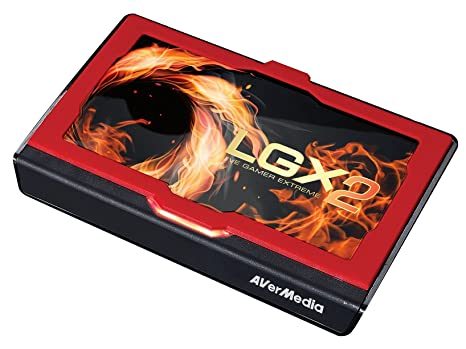 AVerMedia Live Gamer Extreme 2, USB3 0 Game Streaming and Video Capture, 4K  Pass-Through, Full HD 1080p 60fps, Ultra Low Latency (GC551)