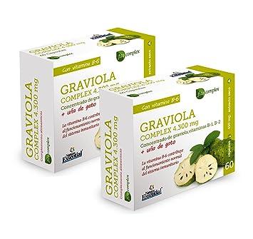 Graviola (Complex) 4.300 mg – Con graviola, uña de gato, vitamina B