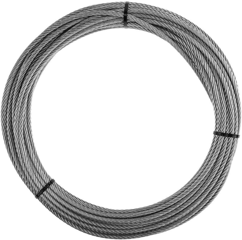 Cable de Acero Inoxidable de 6,0 mm en Bobina de 10 m BeMatik