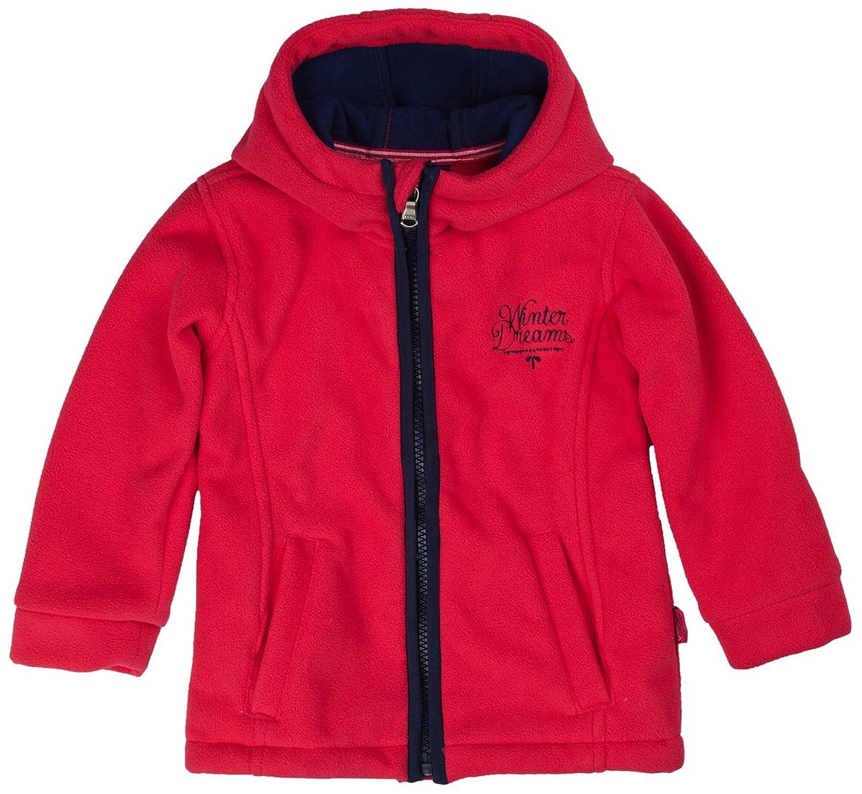 Kanz Mädchen Jacke Fleece Jacket W. Hood 1/1 Sleeves