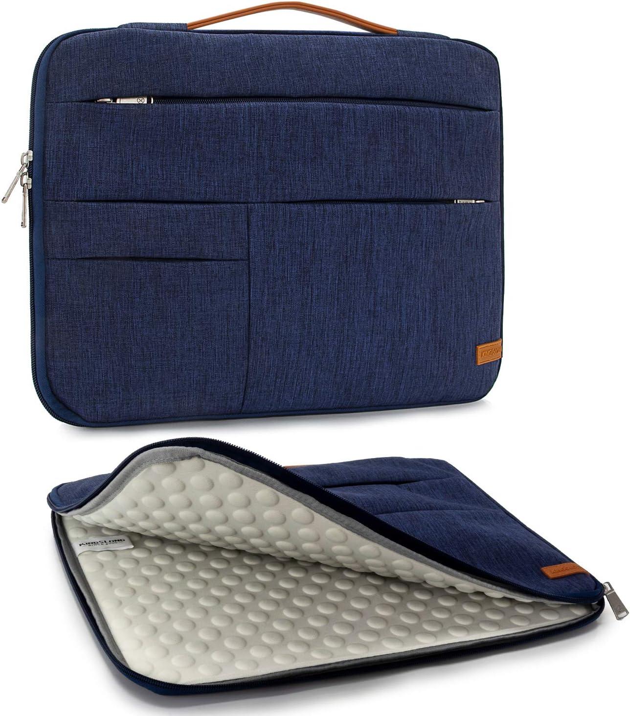 KINGSLONG Laptop Bag for Men Women 17 Inch Laptop Case Notebook Protective Bag Commute Briefcase Laptop Sleeve Messenger Bag Tablet Case Computer Bags Slim Handbag Commute Bags Business
