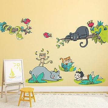 Kina R00353 Stickers Muraux Pour Enfants Imprime Sur Papiers Peints