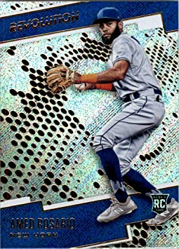 2018 Panini Revolution #16 Amed Rosario RC Rookie Card - NM ...